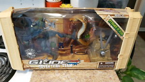 2007 GI Joe Adventure Team Snake Eyes Collector