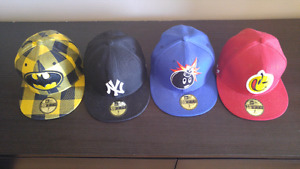 New Era fitted caps