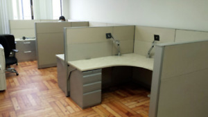 Cubicles-Workstation-Partitions-Call Center Cubicles