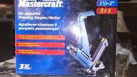 Master craft 3in1flooring stapler/nailer