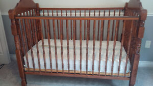 Storkcraft Crib with Mattress & sheets + Change Table