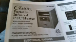 Classic Portable Infrared PTC Heater