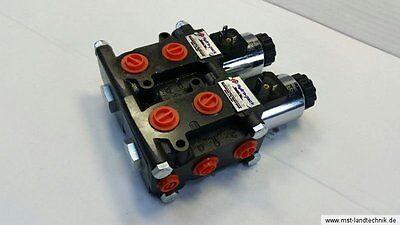 Magnetventil 8/3-Wegeventil NG06 12V DC - Leckölanschluss