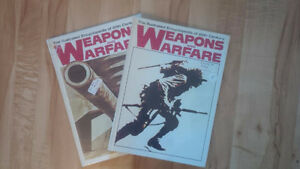 "Vol.I & II, ""Weapons and Warfare"", both for $10"
