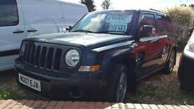 Jeep Patriot 2.0CRD Sport 2007 with Tow Pack