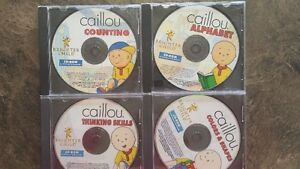 Caillou set of 4