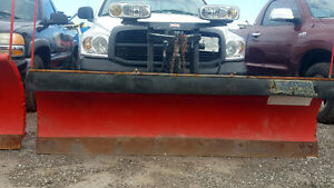 Lightly Used Western Midweight 7.5' Snow Plow Complete Kit
