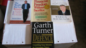 4 Financial Helpful Easy To Read Softcover Books