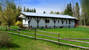 Affordable Rural Living on Acreage in Horsefly Village