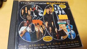 CD: 2 Disc Set - Ultimate Eighties