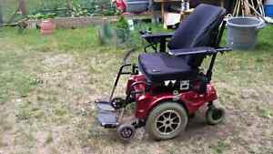 Wheel chair verry good condition . contact 705 875 7865
