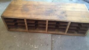 Rustic Home / Office Organizer ~Nice! Antique / Rustic / Vintage