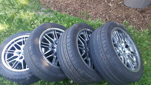 Amazing M Series BMW RIms and TIRES !!! Must go must see