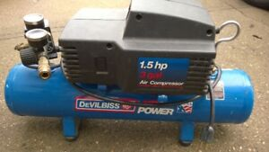 DeVILBISS 1.5HP 3 Gallon portable Air Compressor
