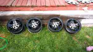 """15"""" steel rims. Fit Jeep, Ranger, and many more Prince George British Columbia image 1"""