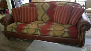 Arizona Style Couch, Arm Chair, Ottoman