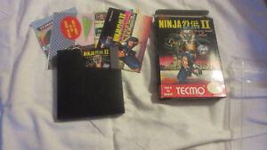 Ninja Gaiden 2 Complete In Box NES Nintendo Game Very Good