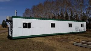 Skidded Portable Office Trailers 12x60 12x40 FOR RENT