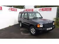 2000 W LANDROVER DISCOVERY 2.5 TD5 GS.MASSIVELY MAINTAINED,RECENTLY WAX OILED.