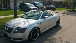 Audi TT Roadster - Custom Sound System and Lowered on Coils