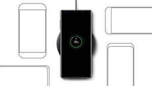 - New Samsung Wireless Charger Pad Phone/Watch