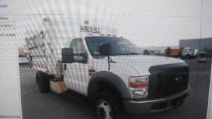 2008 ford f550 recycle truck