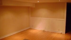 Renovated basement apartment available December 01