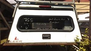 Cabine LEER aluminium pour S-10, Ranger boite de 6'