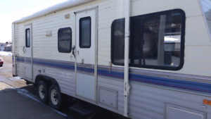 Terry 27ft 1/2 towable holiday trailer with slide