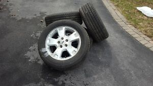 Firestone All Season Tires used one season