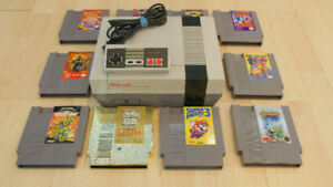 Nintendo Nes Games Super C Double Dragon Metroid Punch Out TMNT+