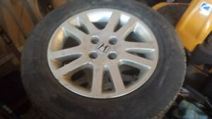 195/65/R15 x-ice tires and wheels Honda Civic