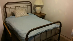 Free Bed, Chair, Lamps