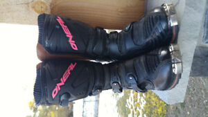 Size 8 Womens O'Neal Motocross Boots