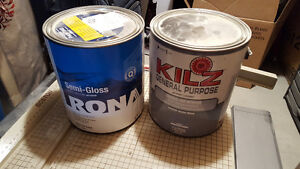 selling unused tin can of paint