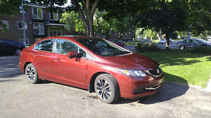 TRANSFERT LOCATION Honda Civic EX Berline 2015 * 15 000 km *85$
