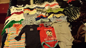 Baby boy clothes lot 6 to 12 months Prince George British Columbia image 1