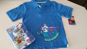 3/4T Boys  Paw Patrol briefs & top..BRAND NEW WITH TAGS
