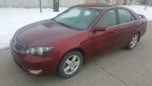 2005 Toyota Camry SE FULLY LOADED with Warranty