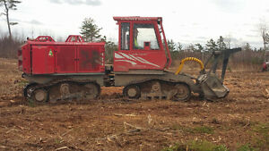 Land Clearing / Mulcher / Blueberry Field Construction