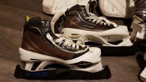 Bauer Supreme One100 Hockey Goalie Skates 9D