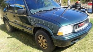 2002 GMC Jimmy sls 4.3 vortec 4x4 auto parts or off road truck,