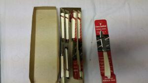 8 Vintage New Crown Sheffield paring knife Miracle Edge blade