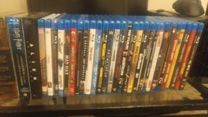Blu Ray movies( Never played, perfect condition_