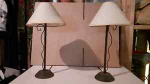 Two Night Stand Lamps
