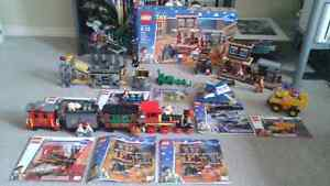 Huge toy story Lego lot, train, spaceship, town & more