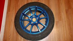 Mazda 3 Tires with Rims Size 205/55/R16 Kitchener / Waterloo Kitchener Area image 4