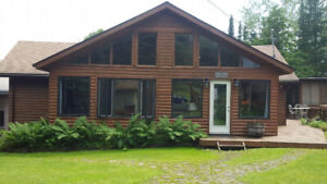 Cabin Cottage Rent Rental Lake is the Woods