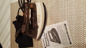 Like New - Compact Folding Travel Steam Iron