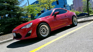 Scion frs 6-speed with mods!